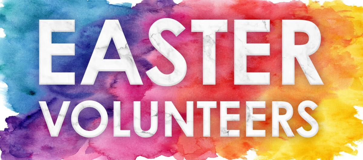 Easter Eggstravaganza Volunteers